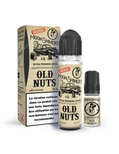 LE FRENCH LIQUIDE - Pack E liquide + Booster Old Nuts Moonshiners 50ML (PG/50-VG/50)